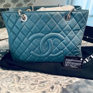 Chanel Teal GST SHW